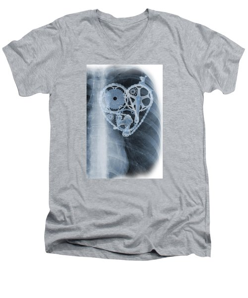 bike lover X-ray Men's V-Neck T-Shirt