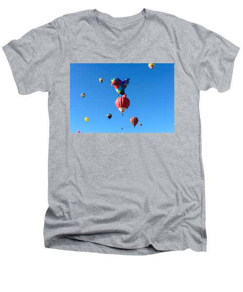 Bird Balloon Men's V-Neck T-Shirt