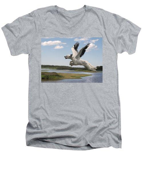 Bird Dog Men's V-Neck T-Shirt