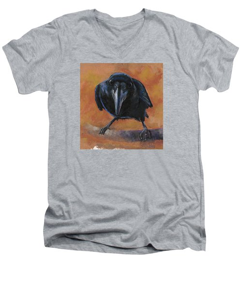 Bird  Watching Men's V-Neck T-Shirt