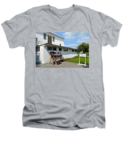 Birdhouses And Feeders For Sale Men's V-Neck T-Shirt
