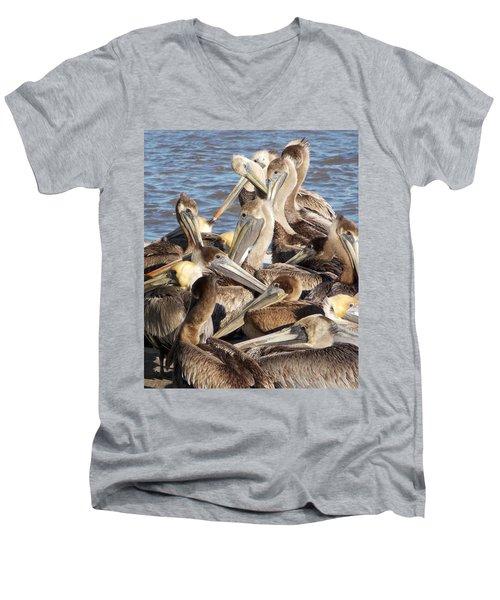 Birds Of A Feather Men's V-Neck T-Shirt