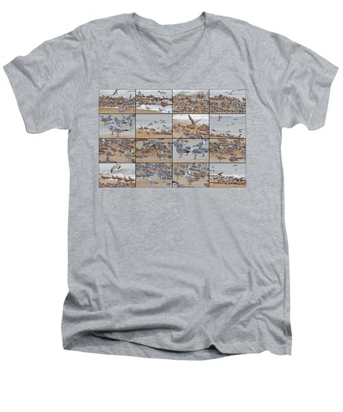 Birds Of Many Feathers Men's V-Neck T-Shirt