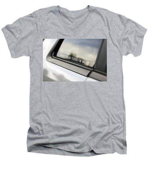 Birthday Car - Intercooled Turbo 16 Valve Men's V-Neck T-Shirt