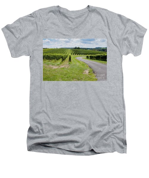 Maryland Vinyard In August Men's V-Neck T-Shirt