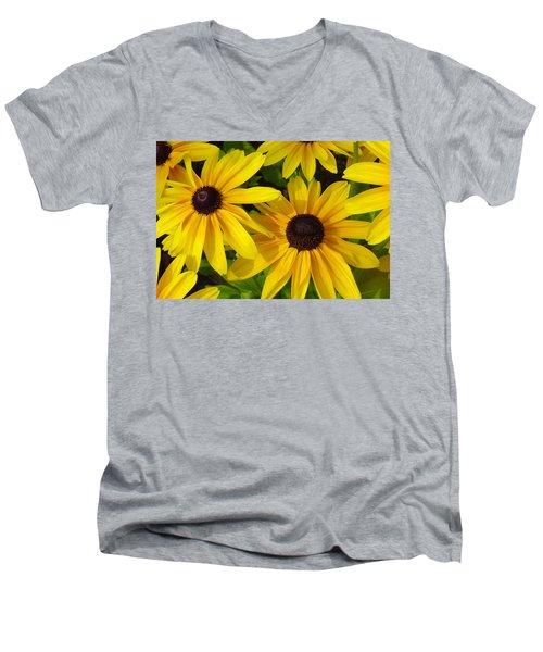 Black Eyed Susans Men's V-Neck T-Shirt