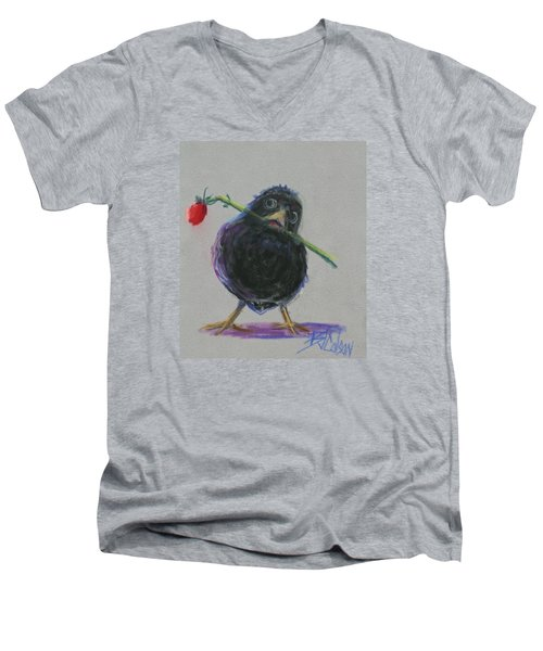 Blackbird Love Men's V-Neck T-Shirt