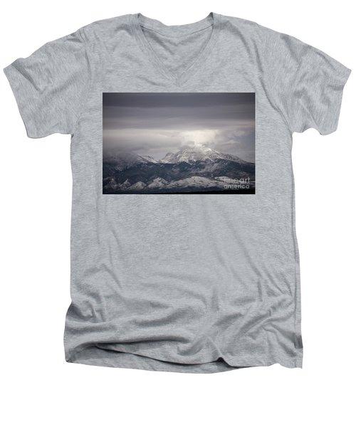 Blanca Peak Men's V-Neck T-Shirt
