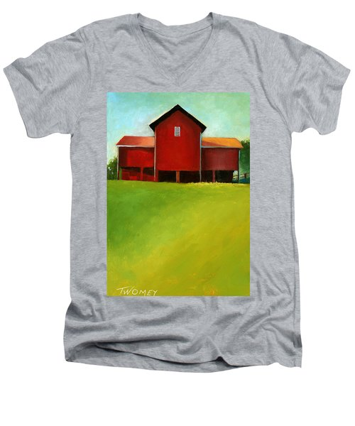 Bleak House Barn 2 Men's V-Neck T-Shirt