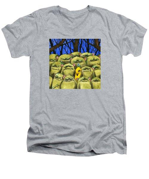 Blend In Men's V-Neck T-Shirt