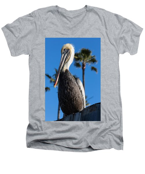Blond Pelican Men's V-Neck T-Shirt