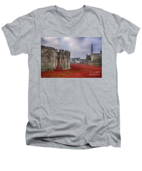 Blood Swept Lands Men's V-Neck T-Shirt