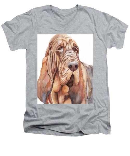 Bloodhound Men's V-Neck T-Shirt