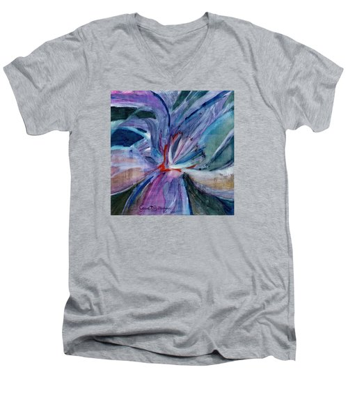 Bloom II Men's V-Neck T-Shirt