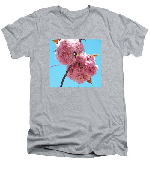 Blossom Bouquet Men's V-Neck T-Shirt