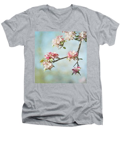 Blossom Branch Men's V-Neck T-Shirt