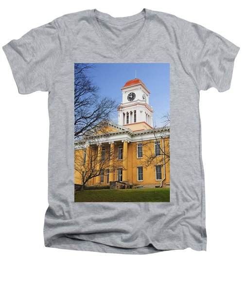 Blount County Courthouse Men's V-Neck T-Shirt