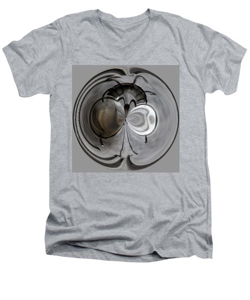 Blown Out Filament Men's V-Neck T-Shirt by Tikvah's Hope