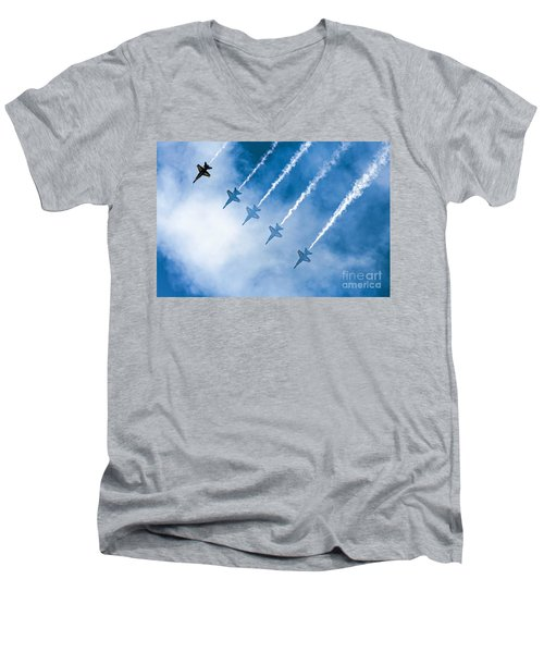 Blue Angels Men's V-Neck T-Shirt
