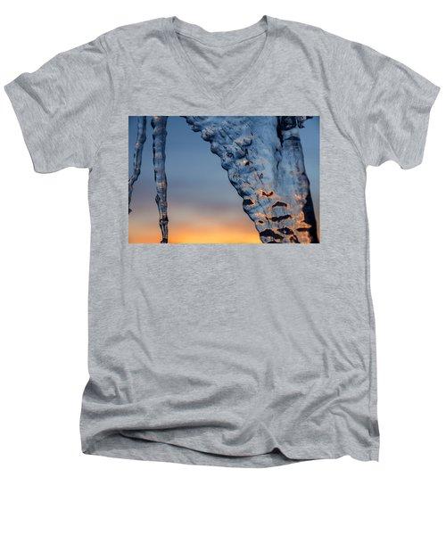 Blue Ice Men's V-Neck T-Shirt