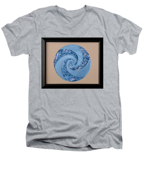 Blue Pool Men's V-Neck T-Shirt