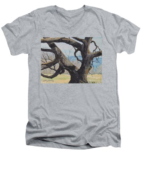 Blue Ridge Memories...sold Men's V-Neck T-Shirt