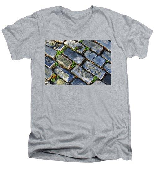 Blue Stone  Men's V-Neck T-Shirt