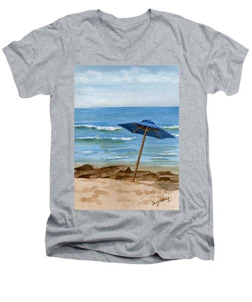 Blue Umbrella Men's V-Neck T-Shirt