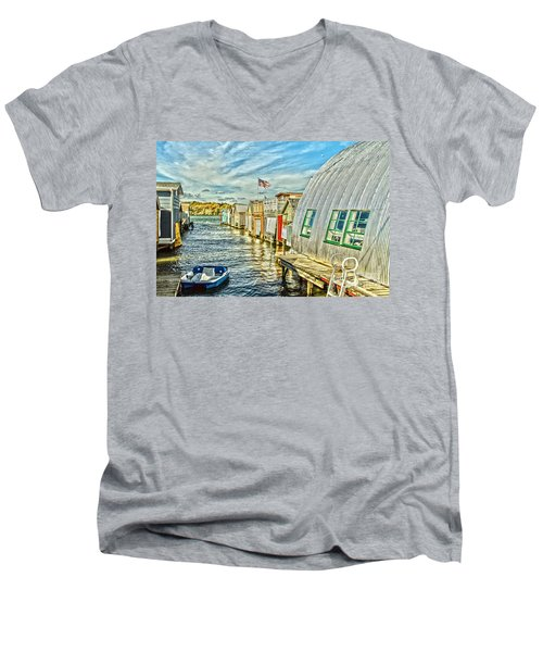 Boathouse Alley Men's V-Neck T-Shirt