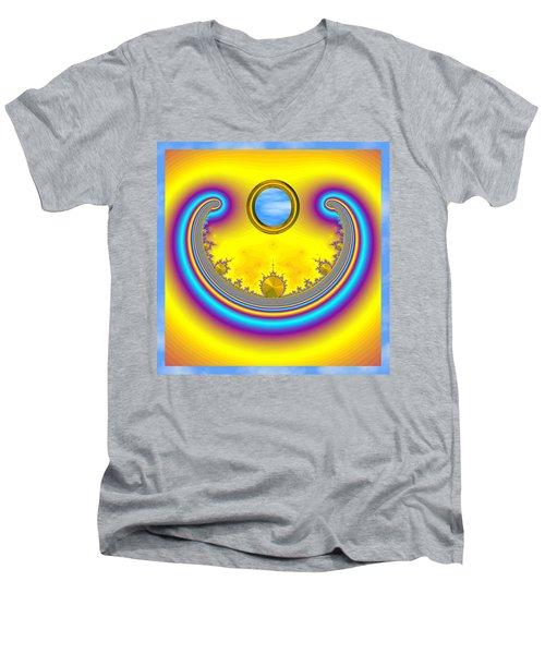 Bobby's Blue Skies Men's V-Neck T-Shirt