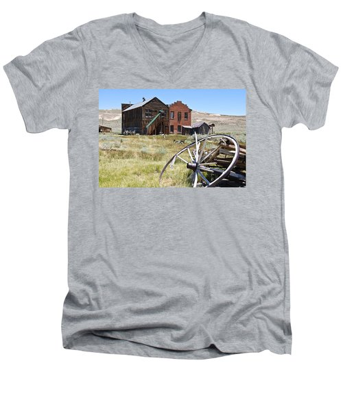 Bodie Ghost Town 3 - Old West Men's V-Neck T-Shirt
