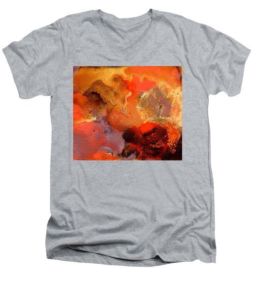 Boiling Lava Men's V-Neck T-Shirt