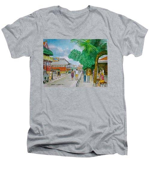 Bonaire Street Men's V-Neck T-Shirt