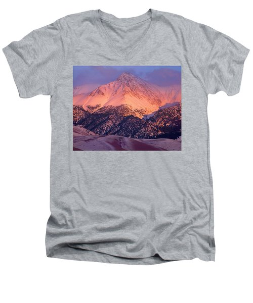 Borah Peak  Men's V-Neck T-Shirt