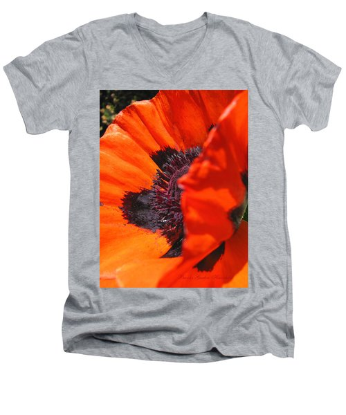 Men's V-Neck T-Shirt featuring the photograph Both Sides Now by Brooks Garten Hauschild