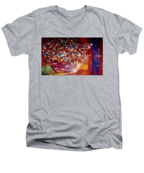 Bountiful Men's V-Neck T-Shirt