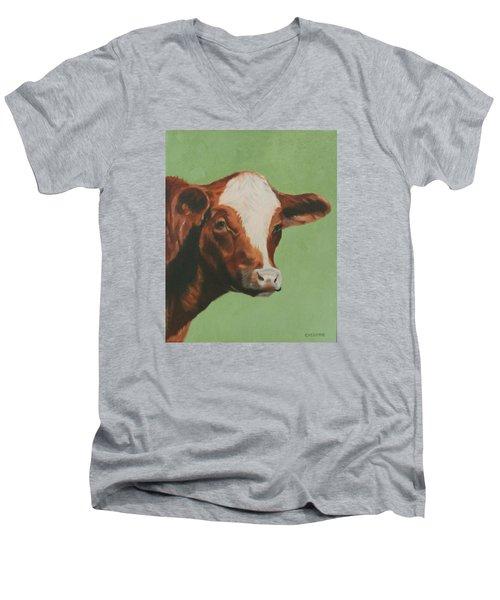 Bovine Beauty Men's V-Neck T-Shirt