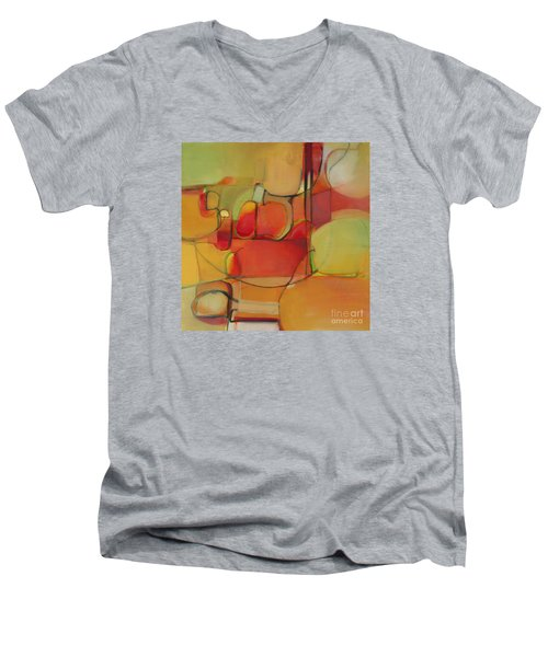 Bowl Of Fruit Men's V-Neck T-Shirt