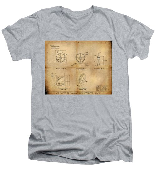 Box Gear And Housing Men's V-Neck T-Shirt