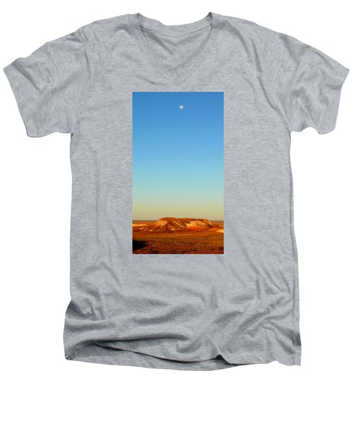 Men's V-Neck T-Shirt featuring the photograph Breakaways by Evelyn Tambour