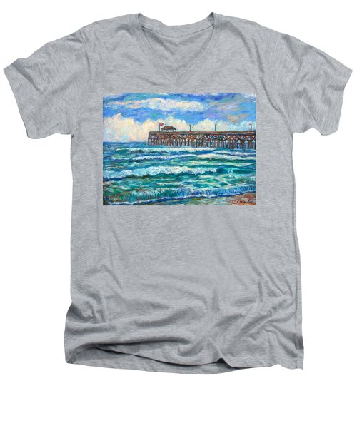 Breakers At Pawleys Island Men's V-Neck T-Shirt