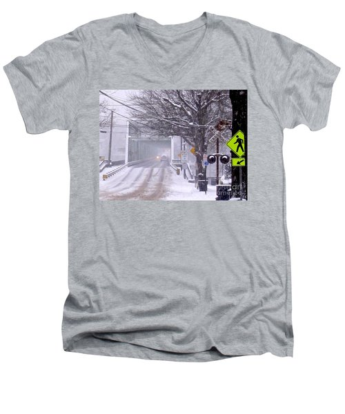Bridge Street To New Hope Men's V-Neck T-Shirt