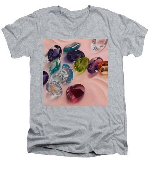 Brillanti Men's V-Neck T-Shirt