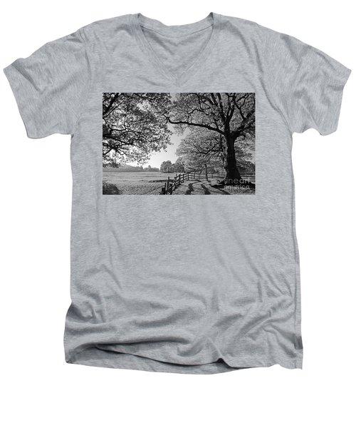 British Landscape Men's V-Neck T-Shirt