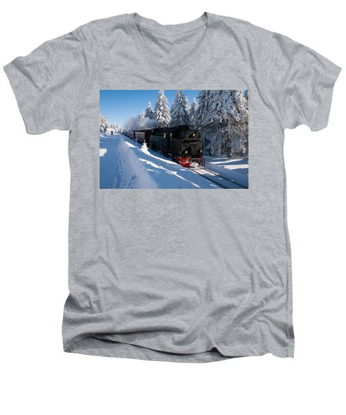 Brockenbahn Men's V-Neck T-Shirt