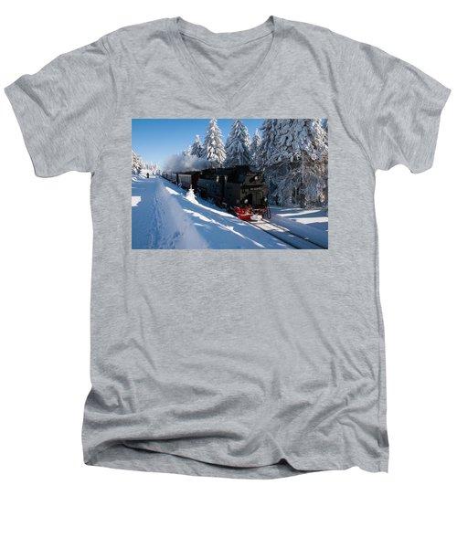 Brockenbahn Men's V-Neck T-Shirt