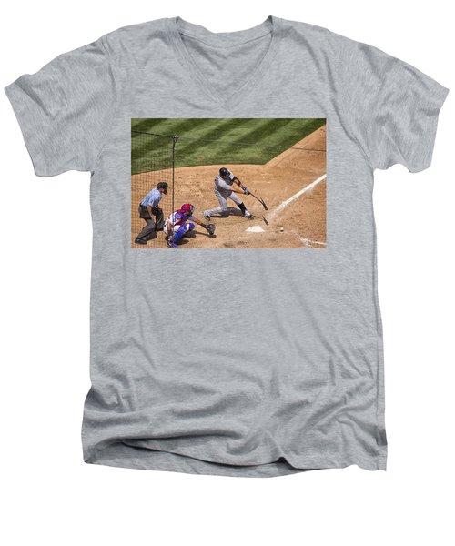 Broken Bat Men's V-Neck T-Shirt