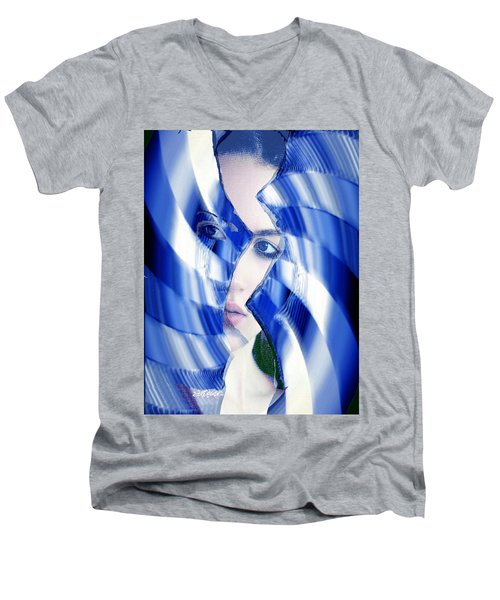 Broken Mirror Broken Dreams Men's V-Neck T-Shirt