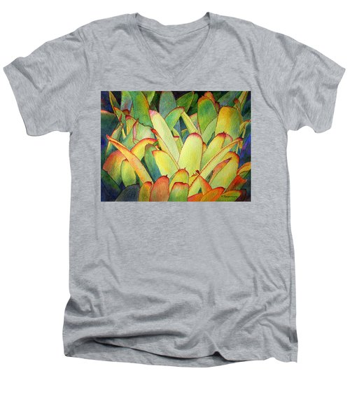 Bromeliads I Men's V-Neck T-Shirt