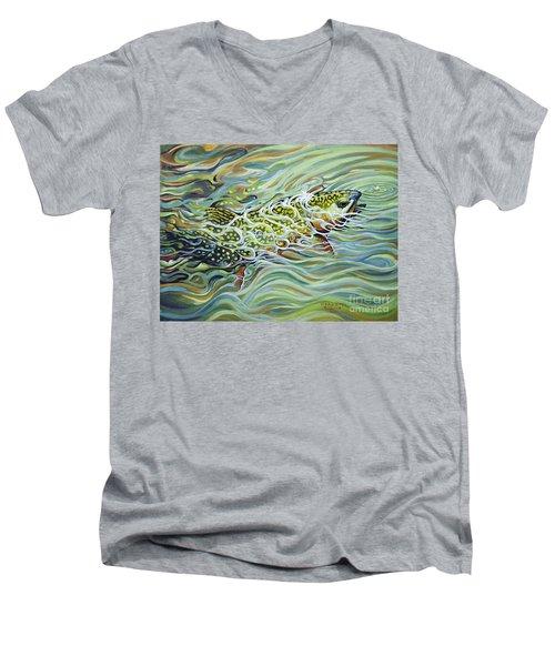 Brookie Flash Men's V-Neck T-Shirt